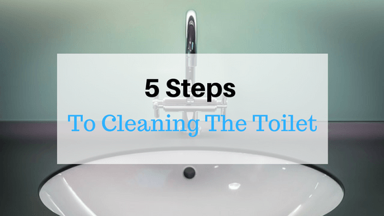 How to Clean your toilet - title
