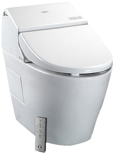 Best Toto toilet MS970CEMFG#01 1.28-GPF:0.9-GPF Washlet with Integrated Toilet G500, Cotton