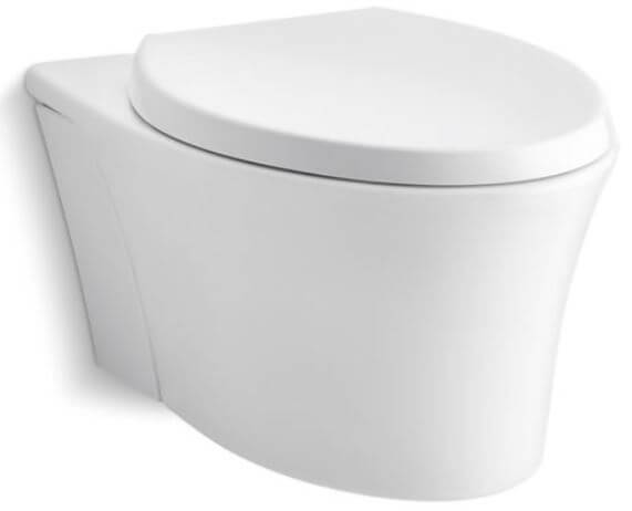 KOHLER Veil Wall-Hung Elongated Toilet