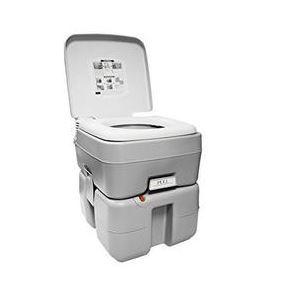 Earthtec ETEC Non-Stick Sanitary Portable Toilet Bowl, 50 Flush, 5 gal
